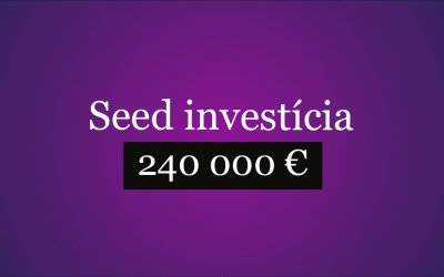 Získali sme investíciu vo výške 240 000 €