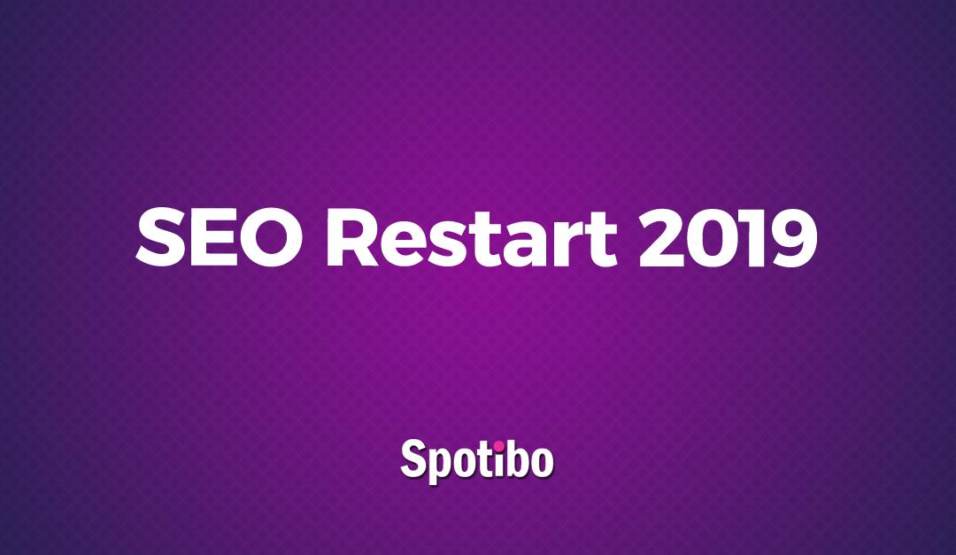 Aký bol SEO Restart 2019?