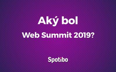 Aký bol Web Summit 2019